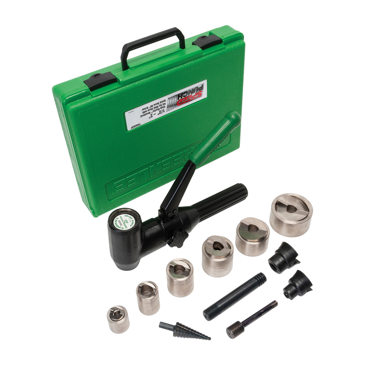 SPEED PUNCH KIT 1/2-2 MS W/DRIVER