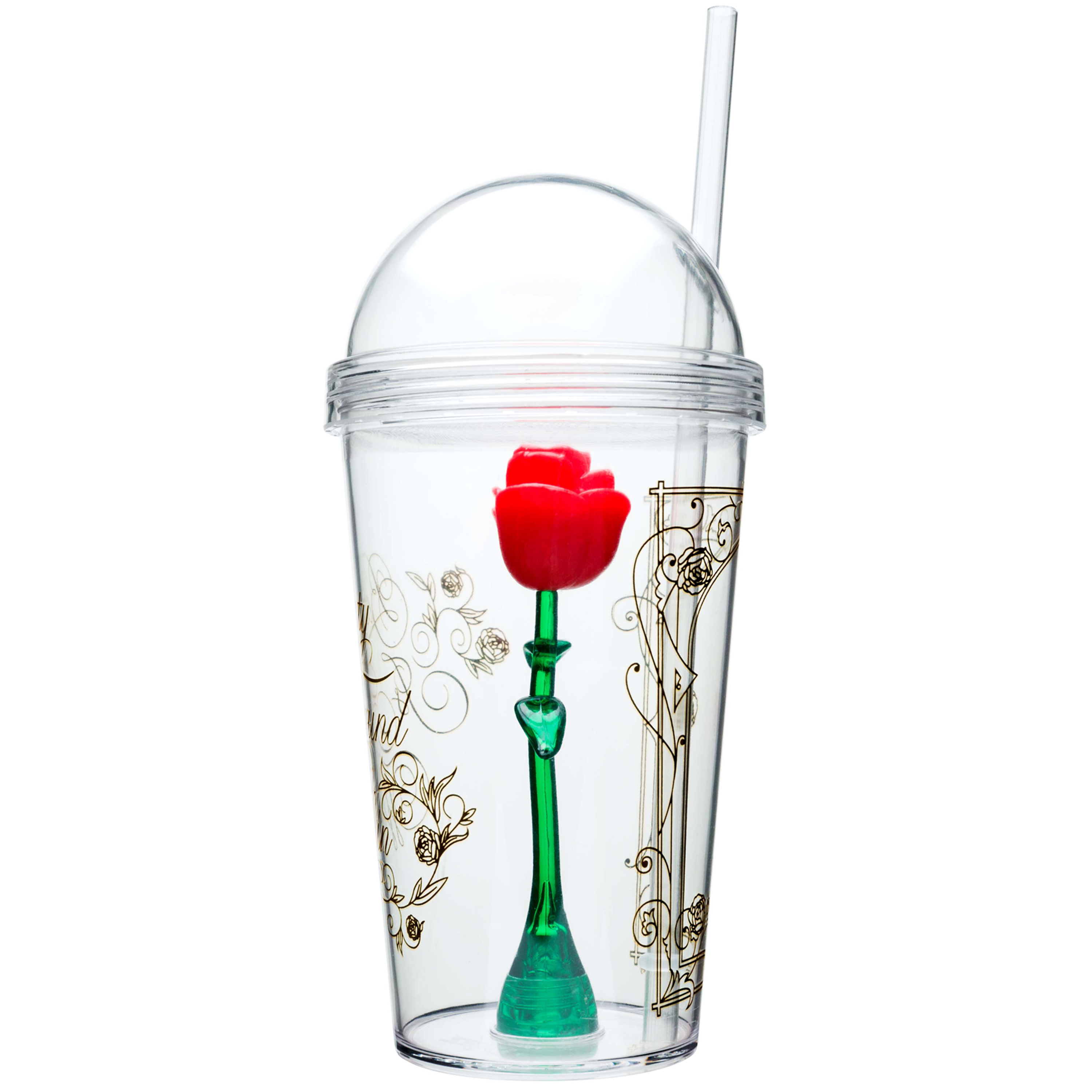 Beauty And The Beast 22 ounce Kid's Tumbler, Enchanted Rose slideshow image 5