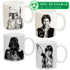 Star Wars 11.5 ounce Coffee Mug, Luke Skywalker, Boba Fett, Han Solo & Darth Vader slideshow image 1