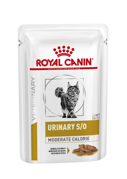 Feline Urinary S/O Moderate Calorie (in gravy)