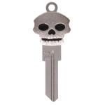 Silver Skull 3D Key Blank