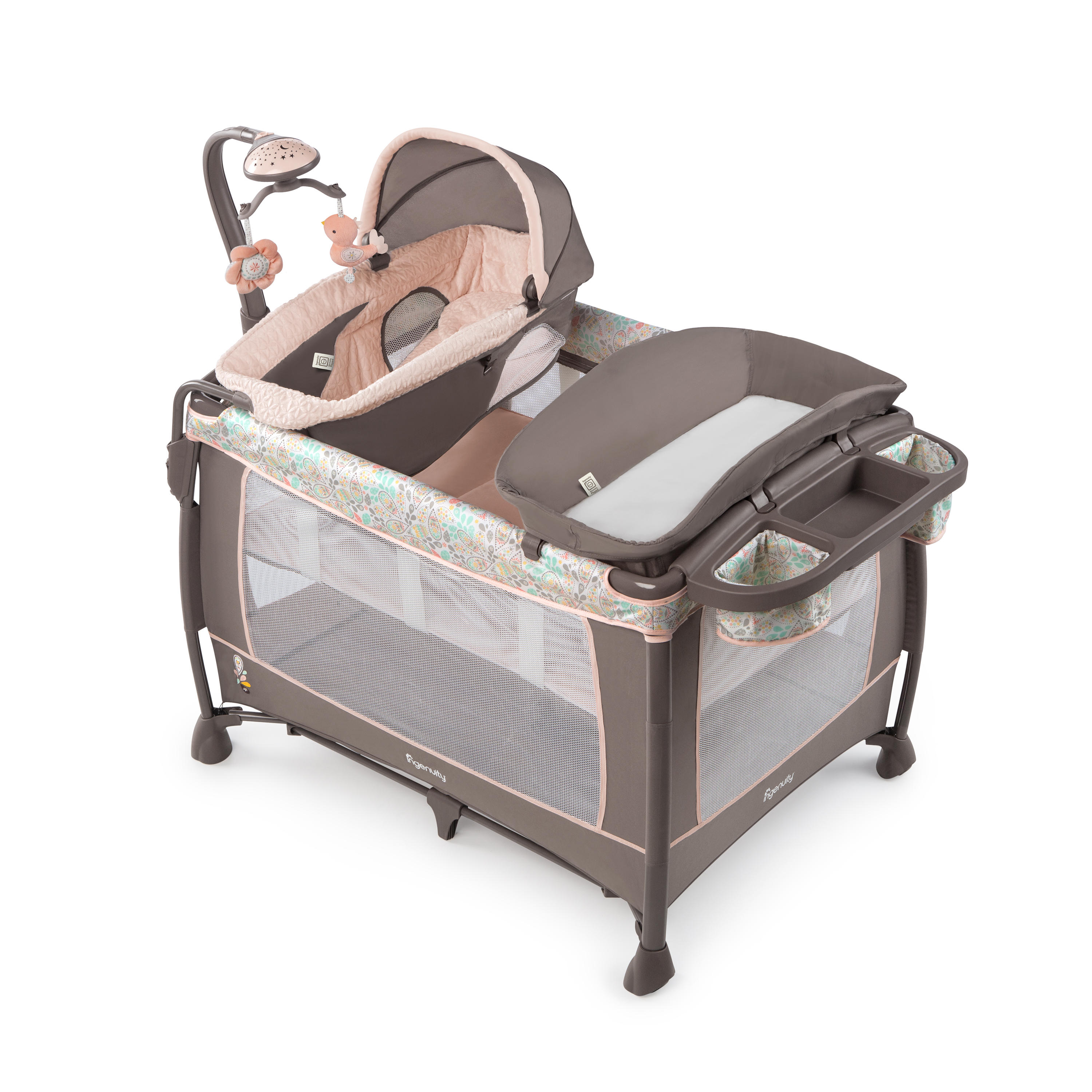 Soothe Me Softly Washable Playard - Piper™