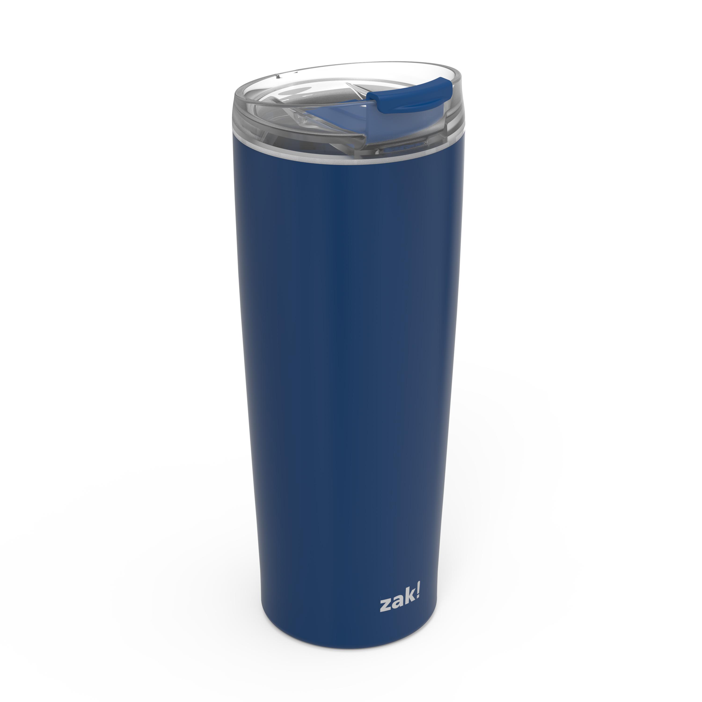 Aberdeen 24 ounce Vacuum Insulated Stainless Steel Tumbler, Indigo slideshow image 4
