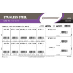 "Stainless Steel Cotter Pins Assortment (5/32"" & 3/16"")"