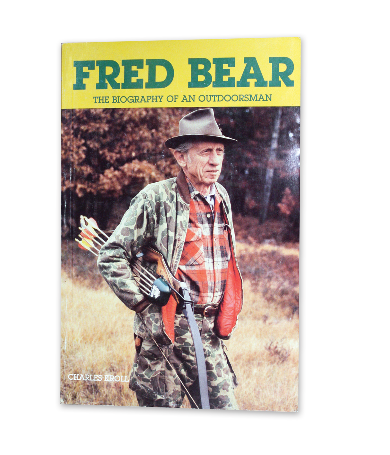 close up of Fred Bear Biography