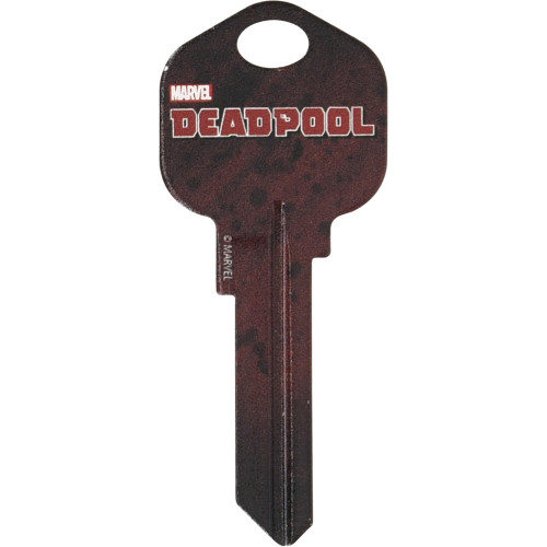 Marvel's Deadpool Kwikset 66/97 KW1/10 Key Blank