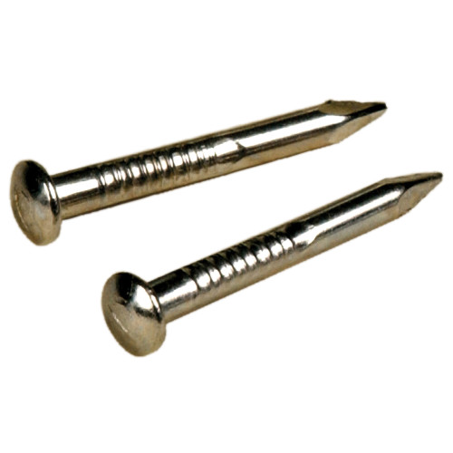 Nickel Shade Bracket Nails (#15 x 3/4