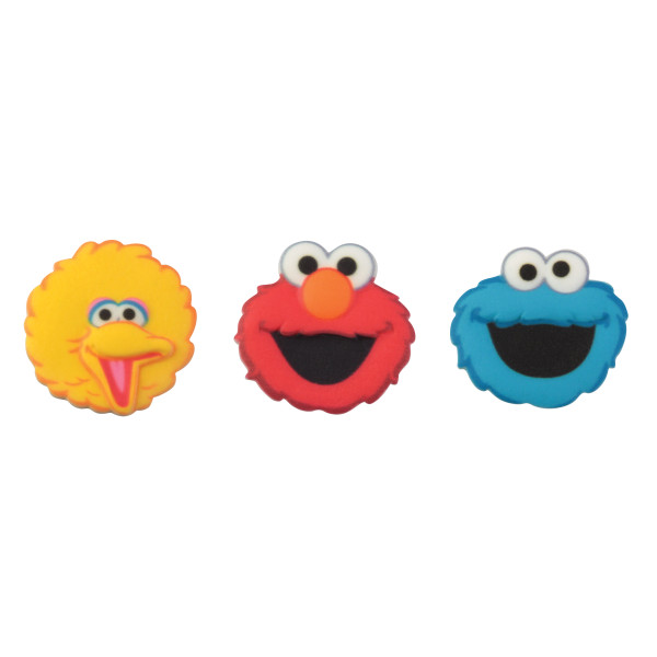 Sesame Street® Characters SugarSoft® Printed Edible Decorations