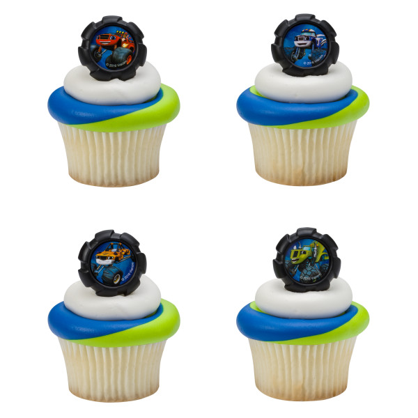 Blaze and the Monster Machines™ Wheels Cupcake Rings