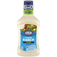 Kraft Classic Ranch Fat-Free Dressing, 16 fl oz Bottle