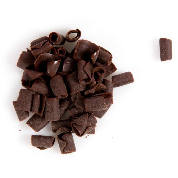 Dark Blossom Curls Belgian Chocolate