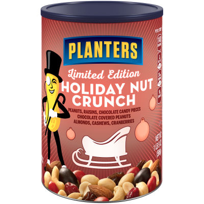 Planters Holiday Nut Crunch Nut & Chocolate Mix 21 oz Can