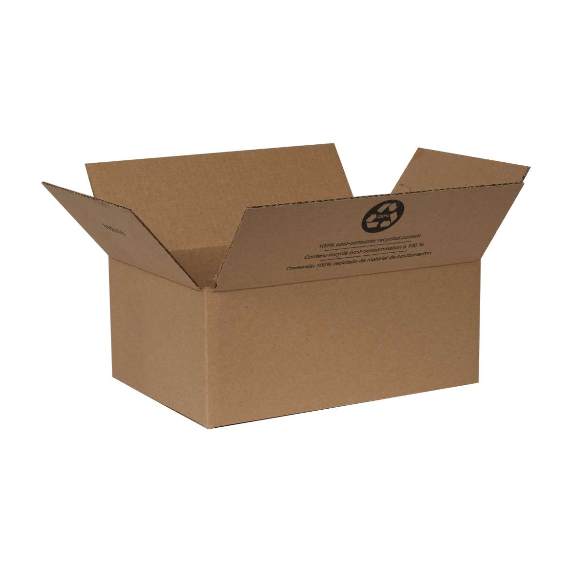 Duck® Brand Kraft Box - Brown, 11.75 in. x 8 in. x 4.75 in. Image