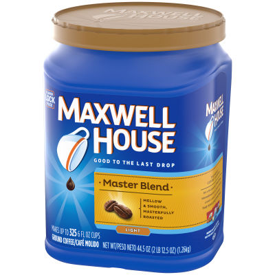 Maxwell House Master Blend Ground Coffee 44.5 oz. Canister