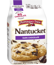(7.2 ounces) Pepperidge Farm® Nantucket™ Crispy Dark Chocolate Chunk Cookies(8 cookies)
