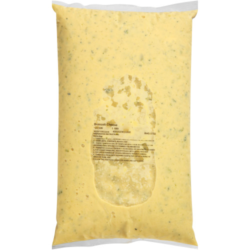 HEINZ CHEF FRANCISCO Broccoli & Cheese Soup, 8 lb. Bag (Pack of 6)