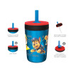 Paw Patrol 15  ounce Plastic Tumbler, Chase, Skye, Marshall and Friends, 3-piece set slideshow image 3