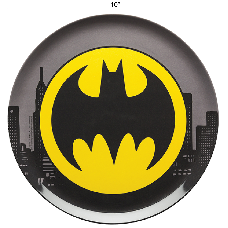DC Comics Dinnerware Set, Batman, 3-piece set slideshow image 4