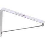 Hardware Essentials Closet Shelf Bracket White