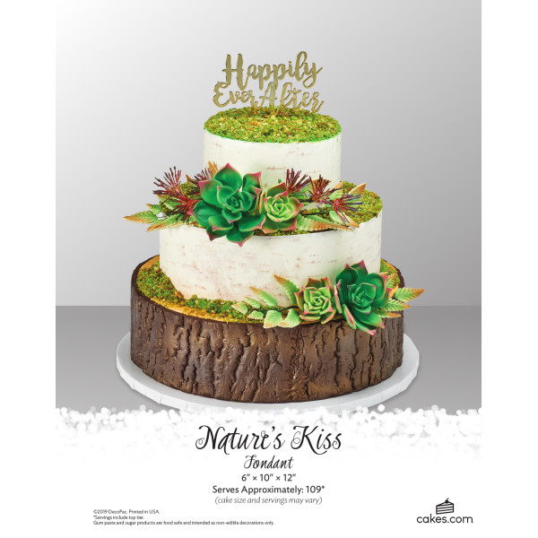 Nature's Kiss Fondant Wedding The Magic of Cakes® Page
