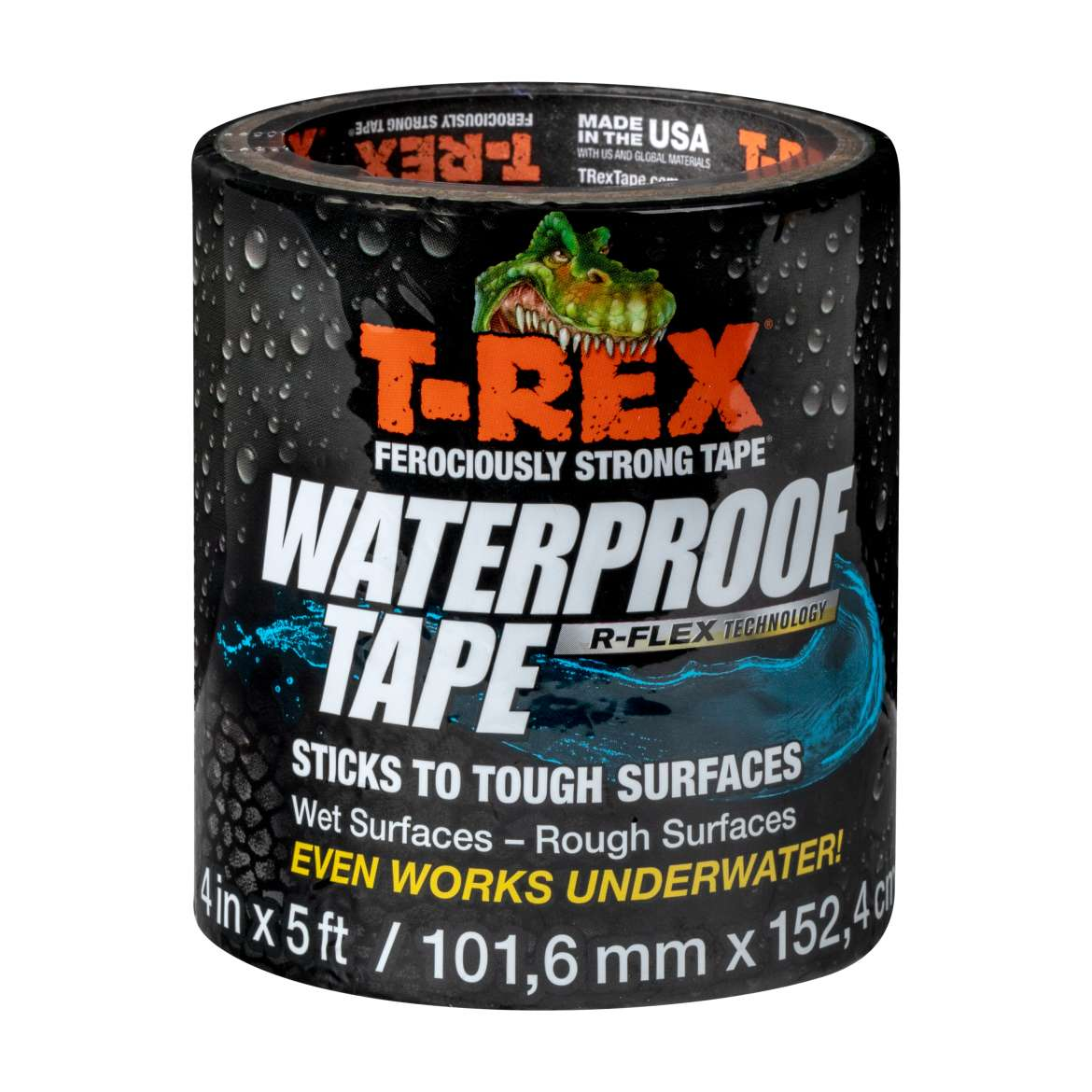 T-Rex® Waterproof Tape - 4 in. x 5 ft.