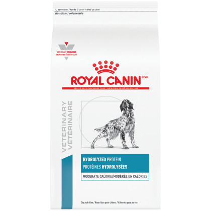 Royal Canin Veterinary Diet Canine Hydrolyzed Protein Moderate Calorie Dry Dog Food