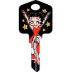 Betty Boop Boop-Oop-A-Doop Key Blank