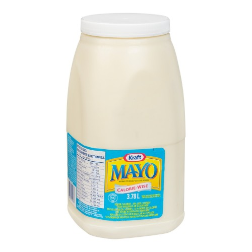KRAFT mayonnaise Calorie-Wise – 2 x 3,78 L