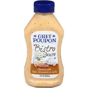 GREY POUPON Bistro Sauce, 12 oz. Bottles (Pack of 12) image