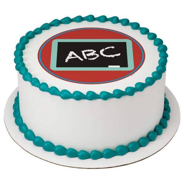 ABC Blackboard PhotoCake® Edible Image®