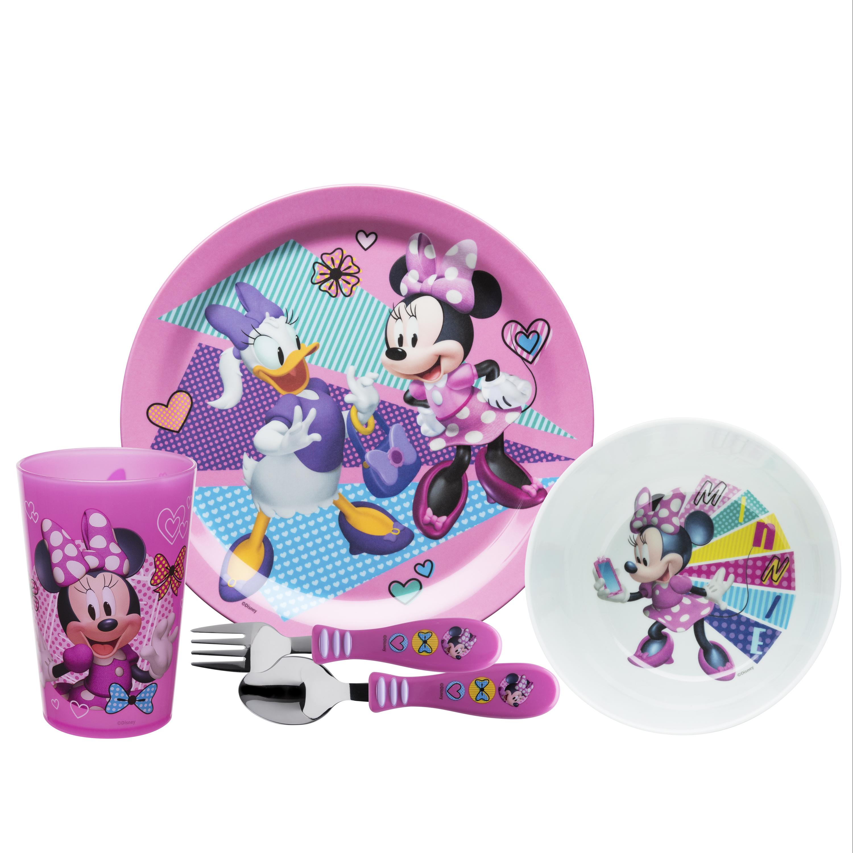 Disney Dinnerware Set, Minnie Mouse, 5-piece set slideshow image 1