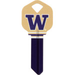 NCAA University of Washington Key Blank