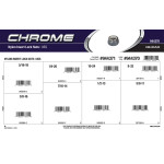 Chrome Nylon Insert Lock Nuts Assortment (USS)