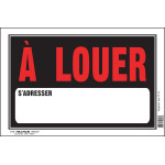 "French For Rent Sign (8"" x 12"")"
