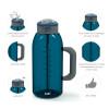 Genesis 64 ounce Water Bottles, Indigo slideshow image 5