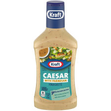 Kraft Caesar Vinaigrette with Parmesan Dressing 16 fl oz Bottle