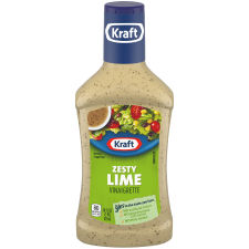 Kraft Zesty Lime Vinaigrette Dressing 16 fl oz Bottle