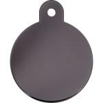 Smoky Black Large Circle Quick-Tag