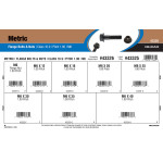 Class 10.9 Metric Flange Bolts & Nuts Assortment (M6-1.00 Thread)