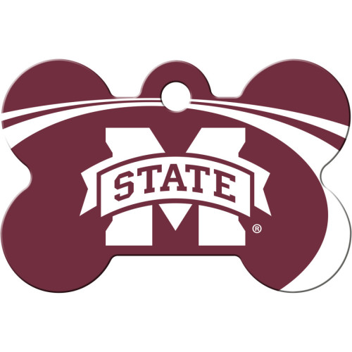 Mississippi State Bulldogs Large Bone Quick-Tag 5 Pack