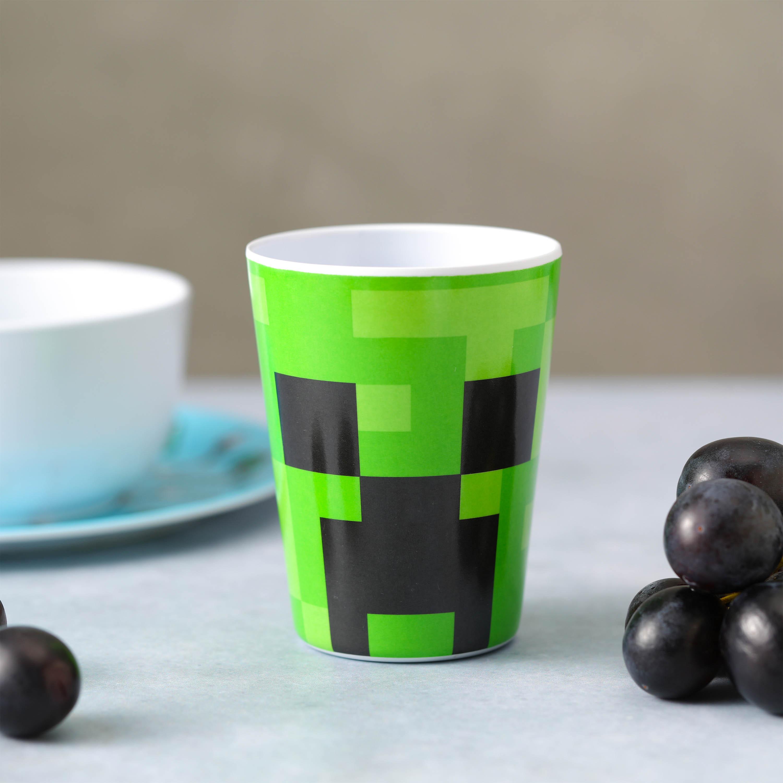 Minecraft Kid's Dinnerware Set, Favorite Minecraft Characters, 3-piece set slideshow image 5