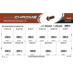 Black Chrome Button-Head Socket Cap Screws Assortment (SAE)