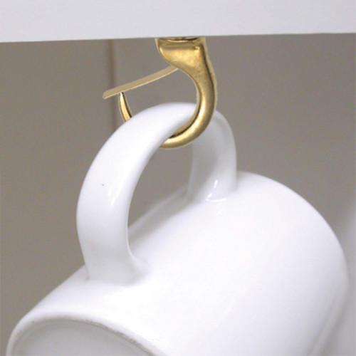 Hardware Essentials Safety Cup Hook Brass 7/8