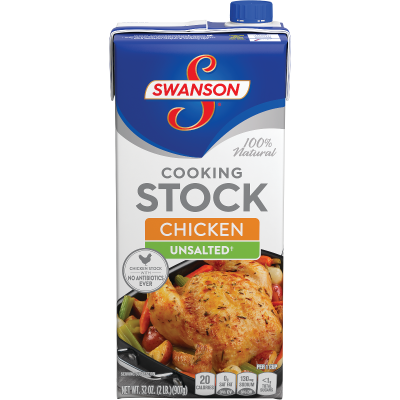 Unsalted Chicken Cooking Stock