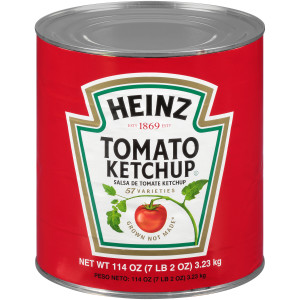 HEINZ Ketchup #10 Can, 114 oz. (Pack of 6) image
