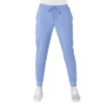 Urbane Performance Four-Pocket Jogger Scrub Pants for Women: Contemporary Slim Fit, Drawstring Medical Scrub Pants 9321-Urbane