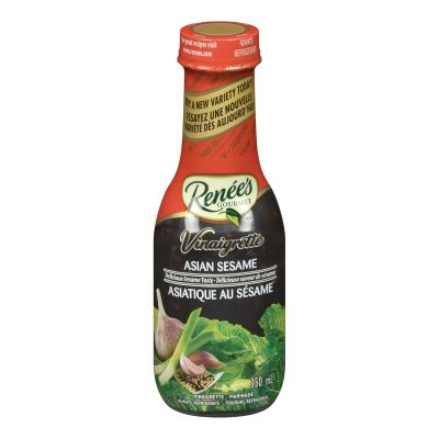 Renée's Asian Sesame Vinaigrette Salad Dressing