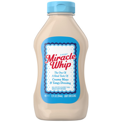 Miracle Whip Light Dressing 12 fl oz Bottle