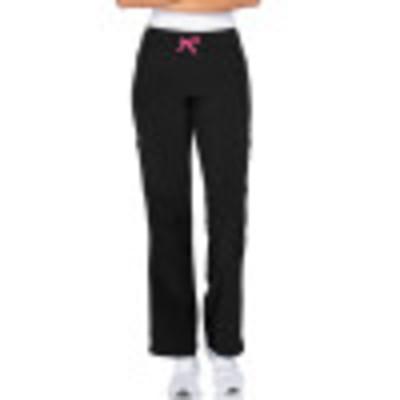 Smitten Miracle AMP Scrub Pants for Women: 2 Pocket, Contemporary Slim Fit, Super Stretch, Drawstring Waist, Flare Leg Cargo Medical Scrubs S201003-Smitten