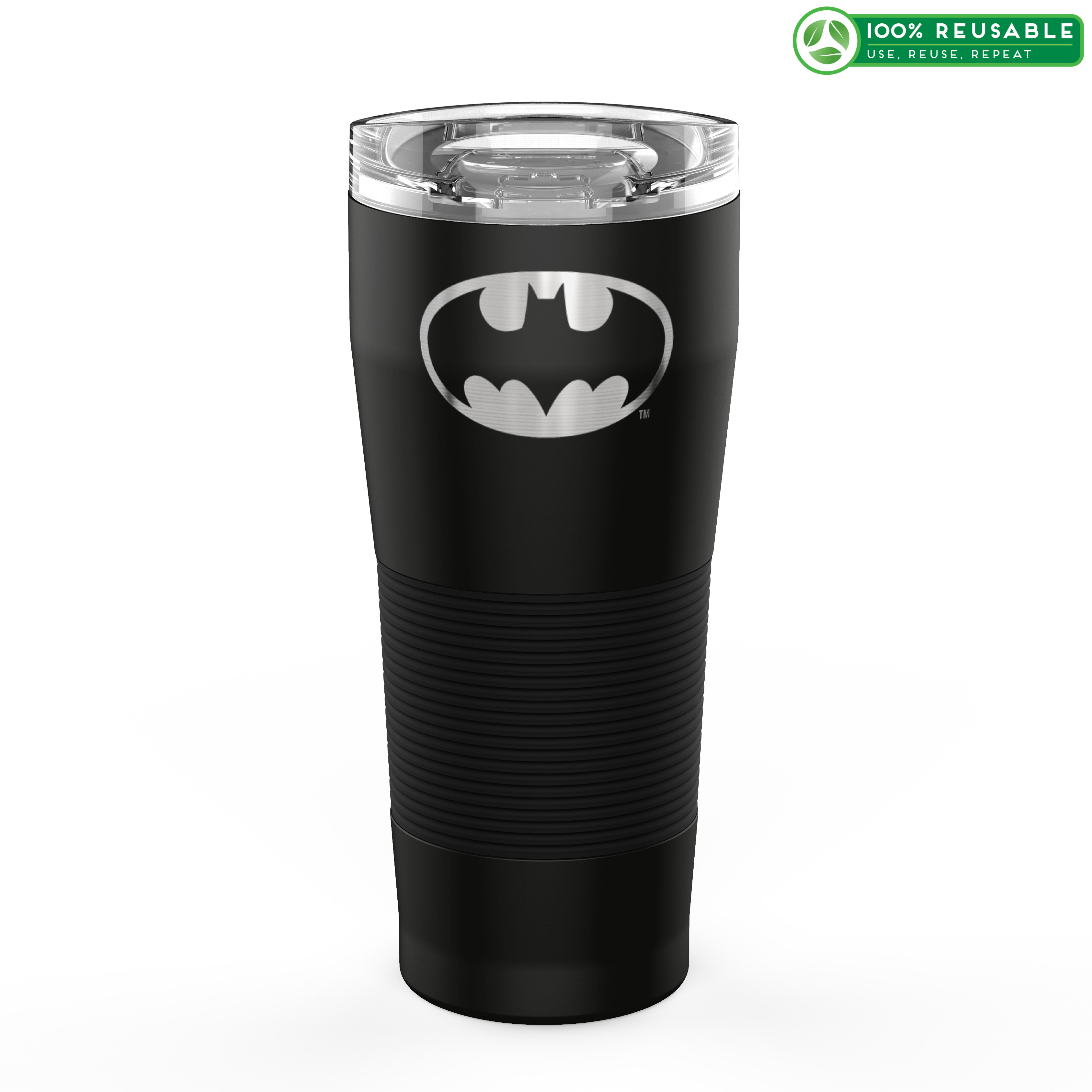 DC Comics 28 ounce Vacuum Insulated Stainless Steel Tumbler, Batman slideshow image 1